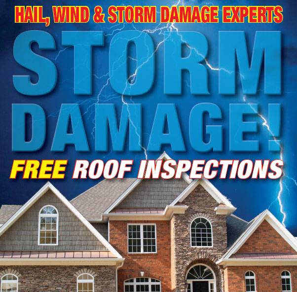 Hail Wind Storm Insurance Claims Roof Inspection Free